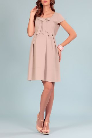 Платье 00481 серый