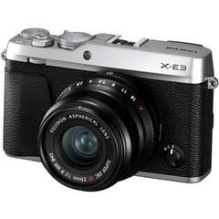 Цифровой беззеркальный фотоаппарат Fujifilm X-E3 Kit 23mm F2 Silver