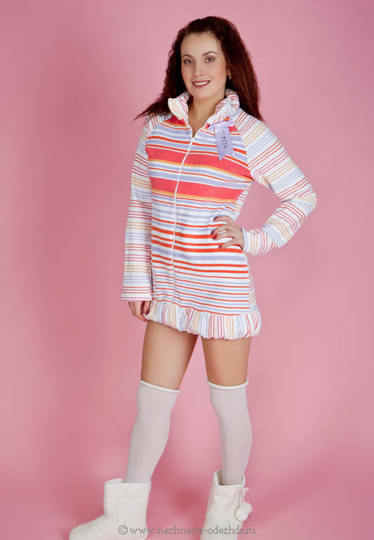 Мягкий женский халат Pepita