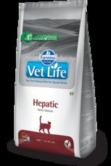 Ветеринарный корм для кошек FARMINA Vet Life HEPATIC при печеночной недостаточности