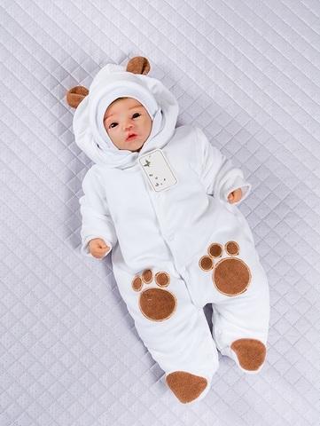 Комбинезон Little Bear белый