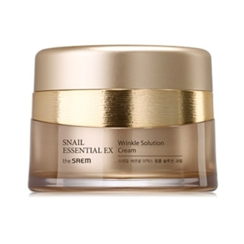 THE SAEM Snail Essential Крем антивозрастной Snail Essential EX Wrinkle Solution Cream 60мл