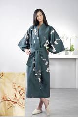 Халат-кимоно Mirabello Floralie песочный