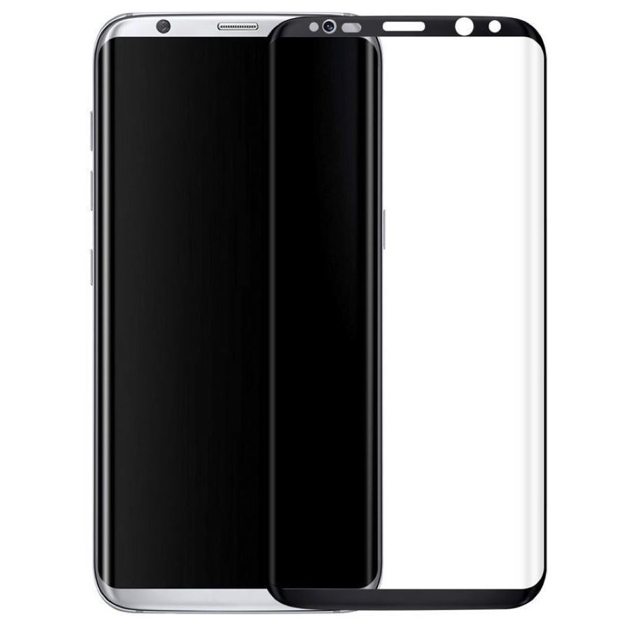 Защитное стекло Samsung Galaxy S8 Plus 3D Black - 1