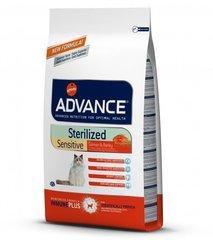 Корм для стерилизованных кошек, Advance Sterilized Sensitive Salmon, с лососем
