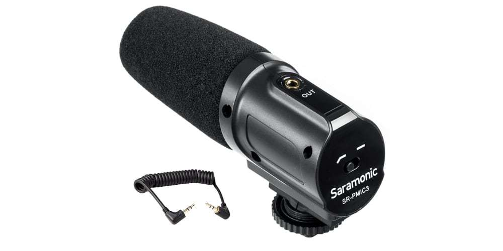 Микрофон-пушка Saramonic SR-PMIC3 Surround вид сверху
