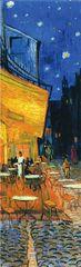 Закладка с резинкой. Ван Гог. Ночная терраса кафе