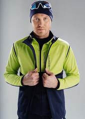 Лыжный жилет Nordski Premium Green-Blueberry 2020
