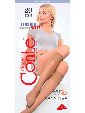 Гольфы Tension Soft 20 Conte