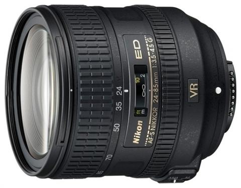 Объектив Nikkor AF-S 24-85 mm F/3.5-4.5 G ED VR