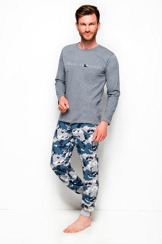Мужская пижама 8W Milosz 2255-2256 Grey Taro