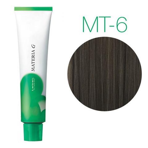 Lebel Materia Grey MT-6 (тёмный блондин металлик) - Перманентная краска для седых волос
