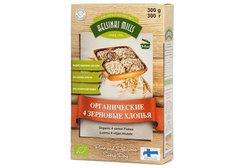 Хлопья Helsinki Mills органические 4-х зерновые, 300г