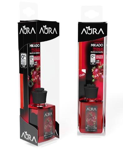 Аромадиффузор для жилых помещений с ароматом маракуйи Mikado (30 мл), Aura
