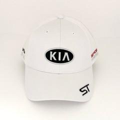 Кепка с вышитым логотипом КИА (Кепка KIA) белая