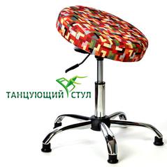Танцующий офисный стул для офиса руководителя хром ортопедический производство стульев