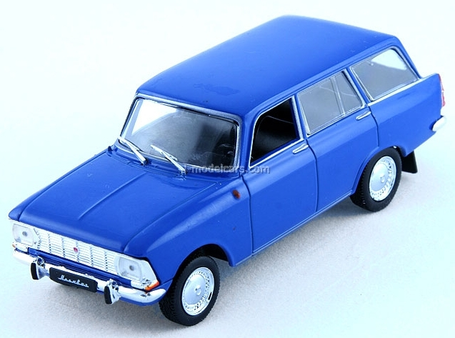 Moskvich-427 blue 1:43 DeAgostini Auto Legends USSR #57