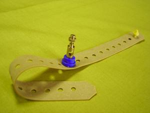 Электрод ЭКГ многоразовый на конечности с ремешком. Для детей от 0 до 3 лет (341,75 руб/шт)