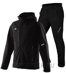 Тёплый лыжный костюм 8848 Altitude Daft Softshell Black Noname Grassi 18
