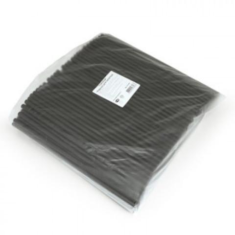 Трубочки для коктейля прямая, черная 240мм d=8мм 250шт/уп 401-484