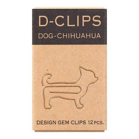 Скрепки Midori D-Clips Dog-Chihuahua (12 шт.)