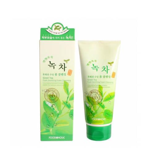 FoodaHolic Пенка для умывания с экстрактом Зеленого Чая 180мл