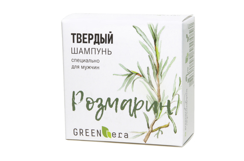 "Шампунь твердый ""Розмарин"" | 55 гр | Green Era"