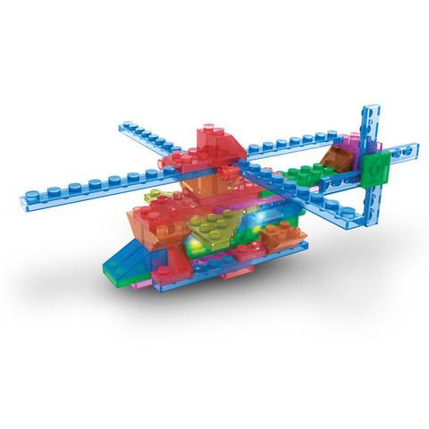 Конструктор Laser Pegs «Вертолёты в футляре» 4 в 1 (400)
