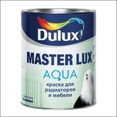 Эмаль для радиаторов и мебели Dulux MASTER Lux Aqua 70 BС (Прозрачный)