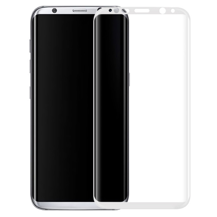 Защитное стекло Samsung Galaxy S8 Plus 3D White - 1