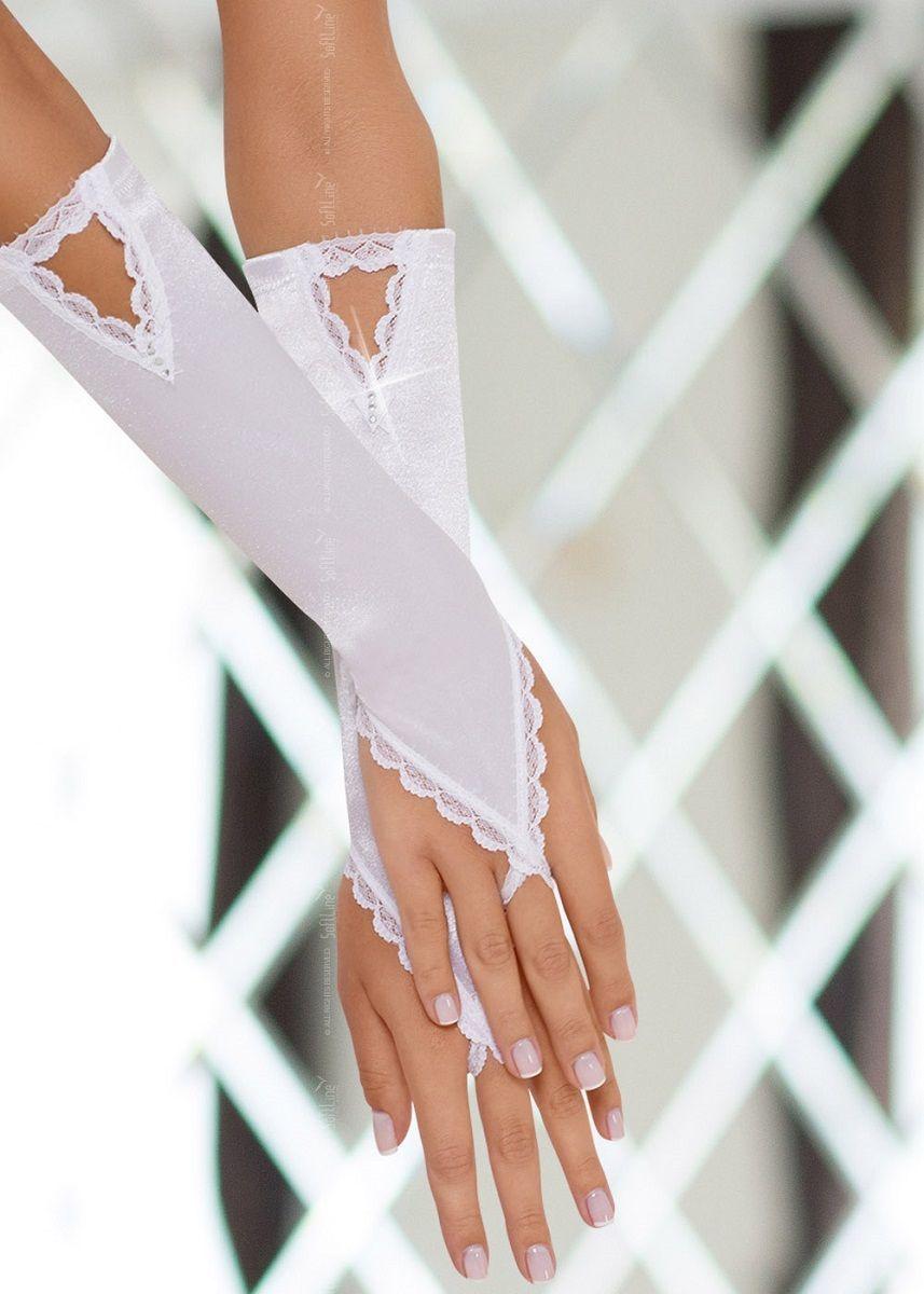 Перчатки и аксессуары: Перчатки с петелькой на пальчик