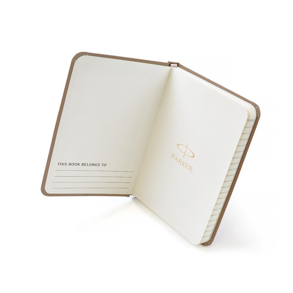 Набор подарочный Parker Urban Premium - Silver Blue Pearl, перьевая ручка, F+блокнот