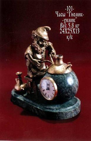 Часы Гном-Алхимик