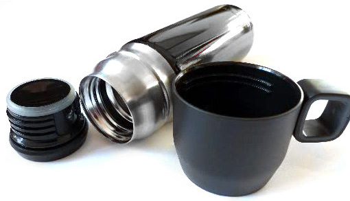 Термос Stanley Nineteen13 Vacuum Flask (0,47 литра), серебристый