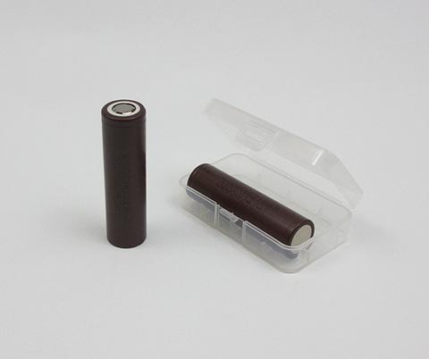 Чехол для хранения аккумуляторов 18650*2