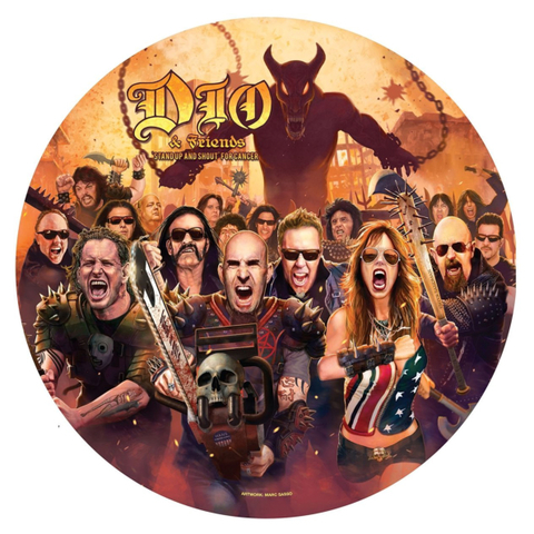 Сборник / Dio & Friends: Stand Up And Shout For Cancer (Picture Disc)(12