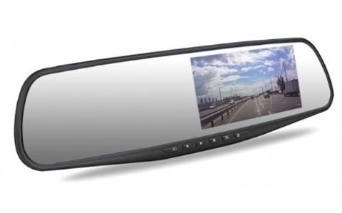 Автомобильный видеорегистратор зеркало Dunobil Spiegel Solo