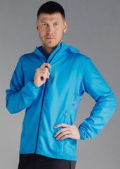 Беговая куртка с капюшоном Nordski Run Light Blue