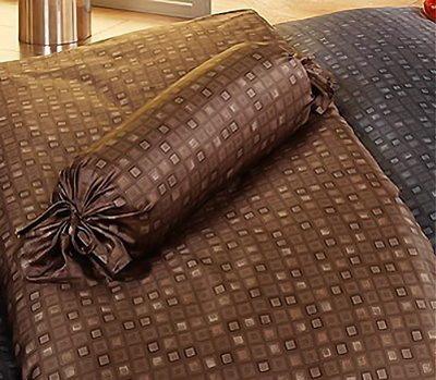 Элитный пододеяльник Cadre коричневый от Elegante