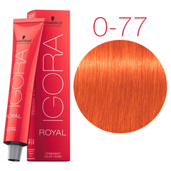 Schwarzkopf Igora Royal New 0-77 - Медный микстон