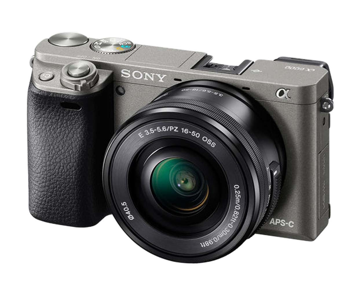 Фотокамера Sony A6000L цвета чёрный графит