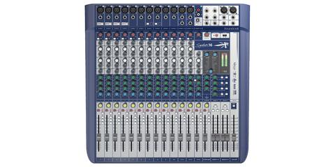 SOUNDCRAFT Signature 16 аналоговый микшер