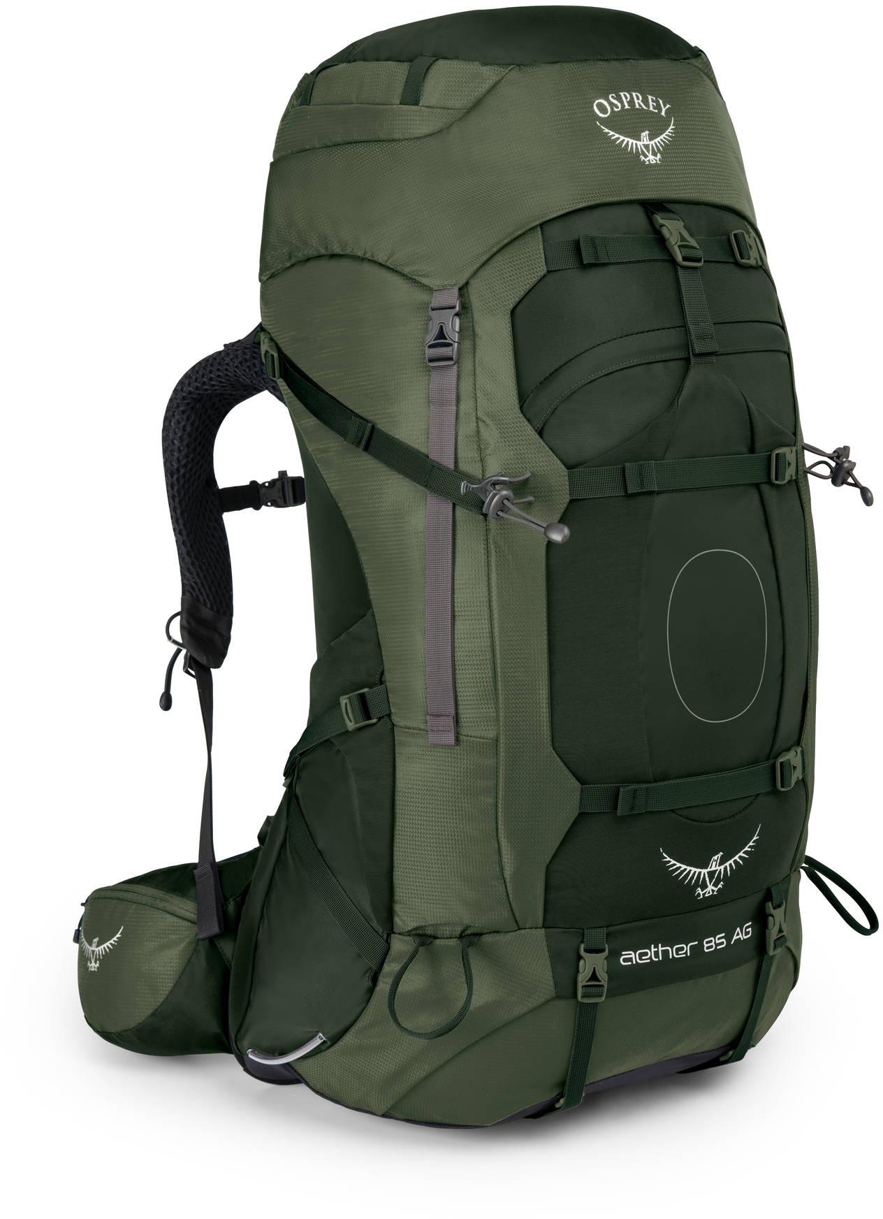 Туристические рюкзаки Рюкзак туристический Osprey Aether AG 85 Aether_AG_85_S17_Side_Adirondack_Green_web.jpg