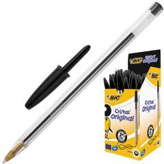 Ручка шариковая BIC Cristal черный 0,4мм Франция