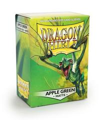 Dragon Shield - Зеленое яблоко матовые протекторы 100 штук