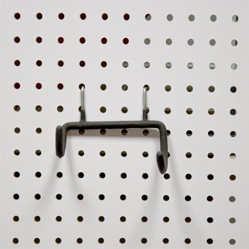 Держатель для дрели (подходит на перфорированную панель из металла и ХДФ). PH822