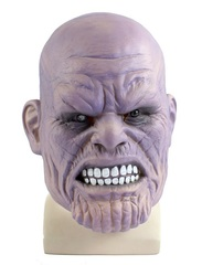 Мстители Война бесконечности маска Танос латексная