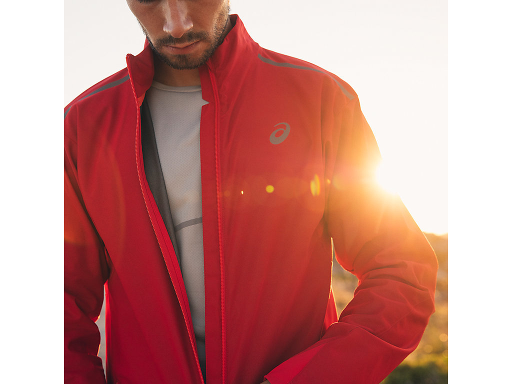 Мужская ветрозащитная куртка Asics Windblock (129873 6015) фото