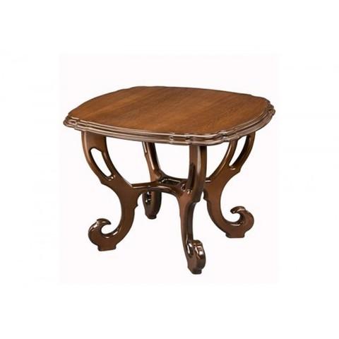 Стол журнальный Кофейный деревянный орех