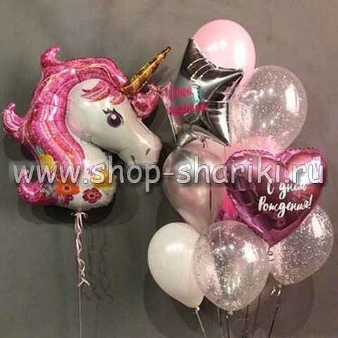 фонтан из шаров на день рождения девочки